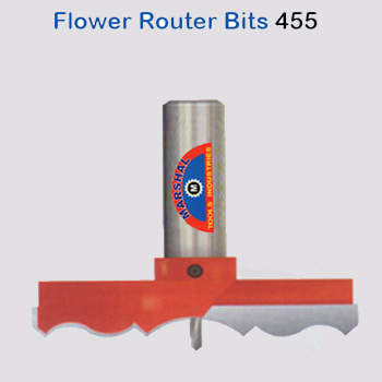 Flower-router-bits