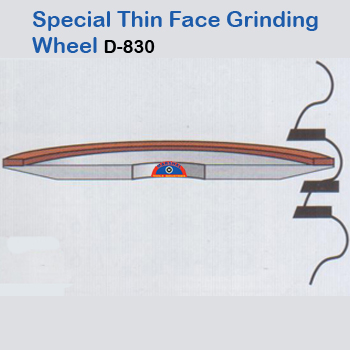 Special-thin-face-grinding-wheel
