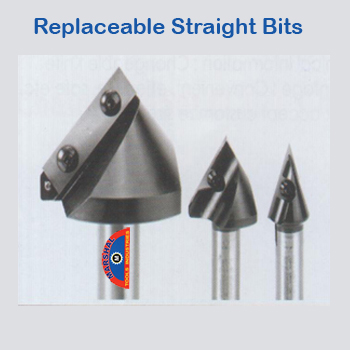 Replaceable-straight-bits