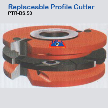 Replaceable-profile-cutter